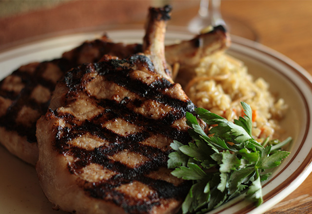 Hickory House Steakhouse Porkchop