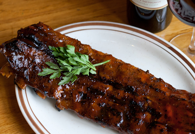 Hickory House Steakhouse Ribs