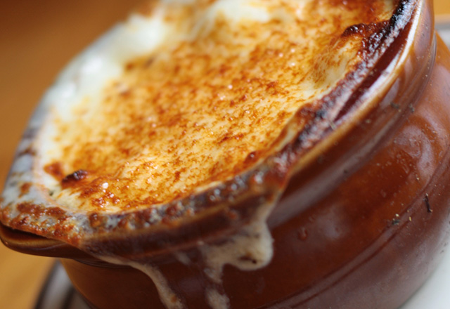 Hickory House Steakhouse French Onion Soup