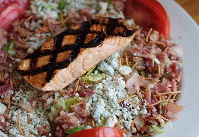 Hickory House Steakhouse Salmon Salad