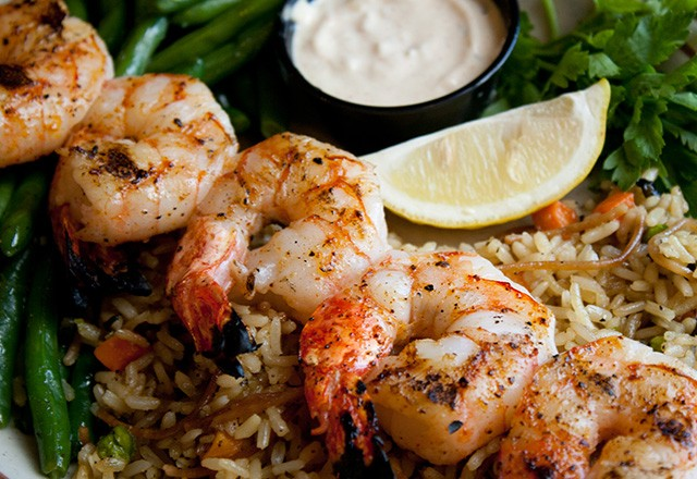 Hickory House Steak Shrimp